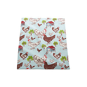 Farmhouse Hen Dish Towel