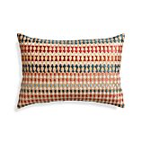 "Farrah 18""x12"" Pillow with Down-Alternative Insert"