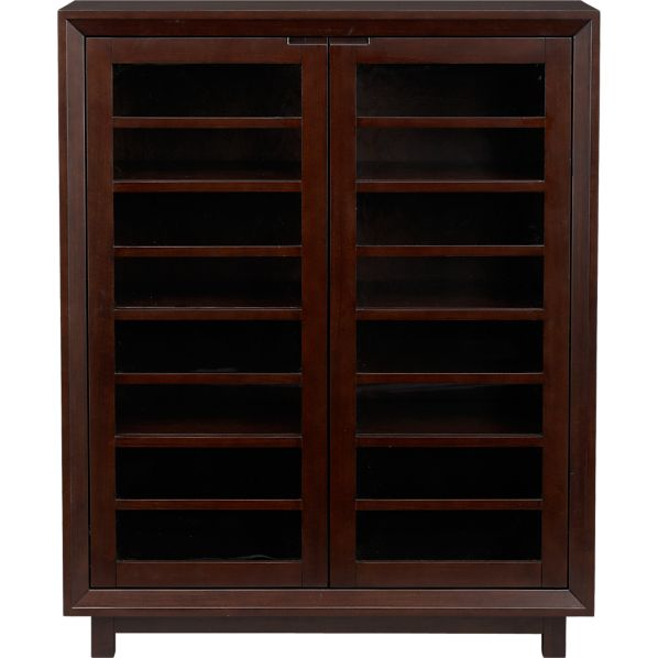Farrow Two-Door Glass Cabinet
