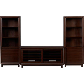 Farrow 52 Media Console with 2 Media Towers