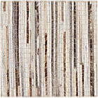 Faust Striped Cowhide Rug Swatch.