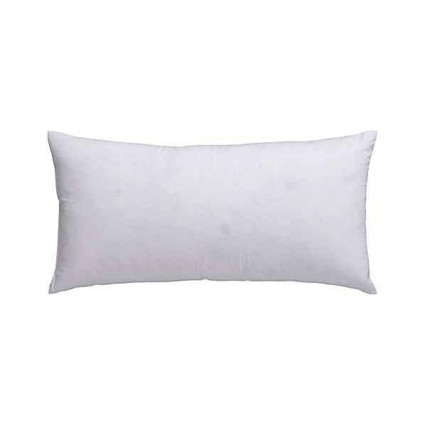 "Feather-Down 16""x8"" Pillow Insert"