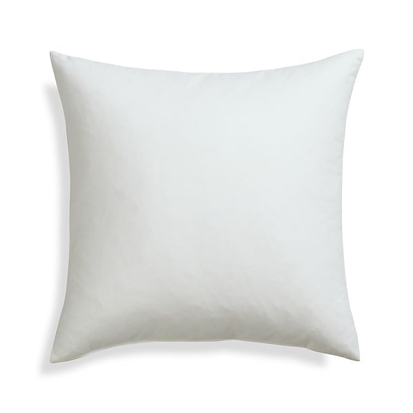 Feather Down 20 Quot Pillow Insert Crate And Barrel