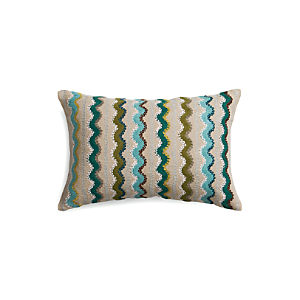 "Feleti 18""x12"" Pillow with Down-Alternative Insert"