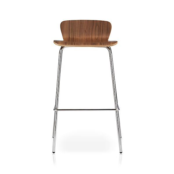 "Felix 30"" Walnut Bar Stool"