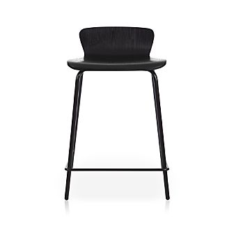 "Felix 24"" Black Counter Stool"