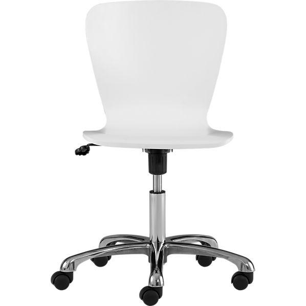 Felix White Office Chair