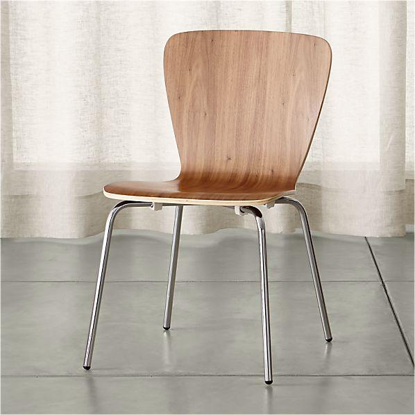 Felix Walnut Side Chair
