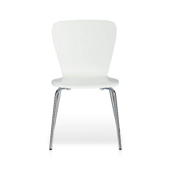 Felix White Side Chair
