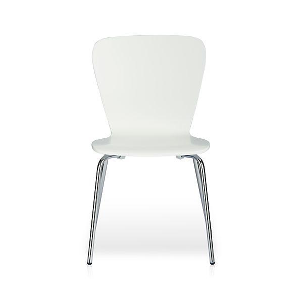 Felix White Side Chair