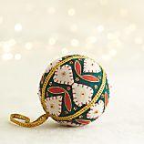 Felt Applique Ball Ornament