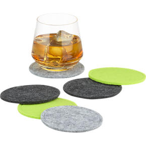 Felt Coasters Set of Six