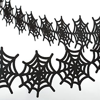 Felt Spiderweb Garland