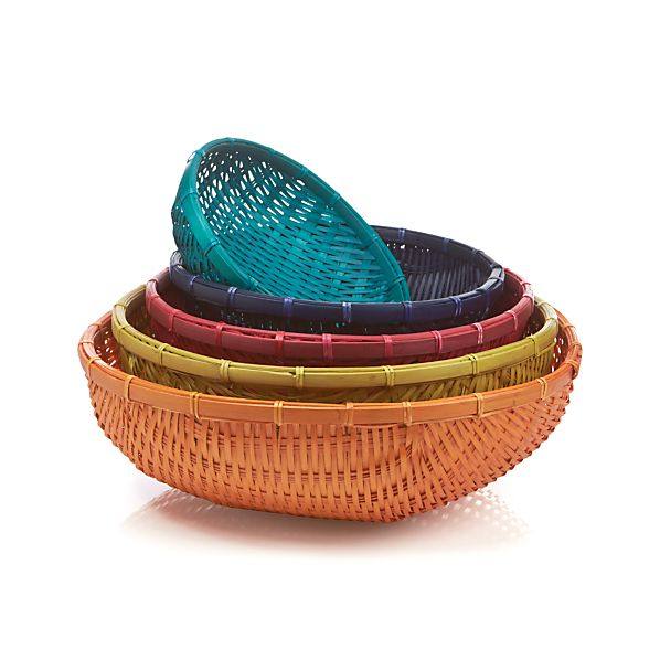 5-Piece Festival Basket Set