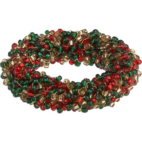 Festive Bead Napkin Ring