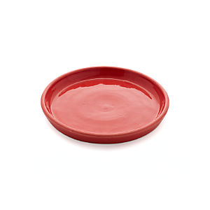 Festive Large Red Saucer
