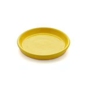 Festive Small Yellow Saucer
