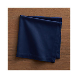Fete Blue Cotton Napkin