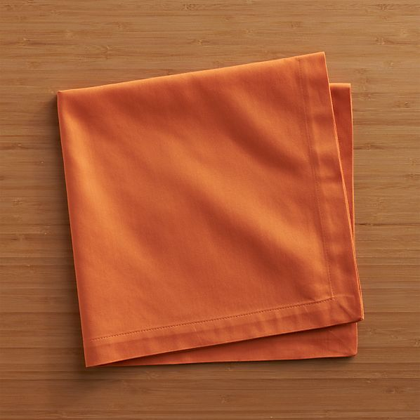 Fete Pumpkin Cotton Napkin