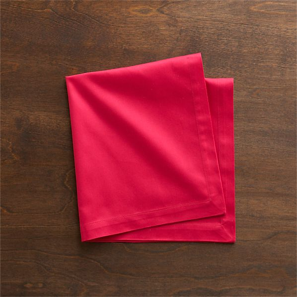 Fete Azalea Cotton Napkins Set of Eight