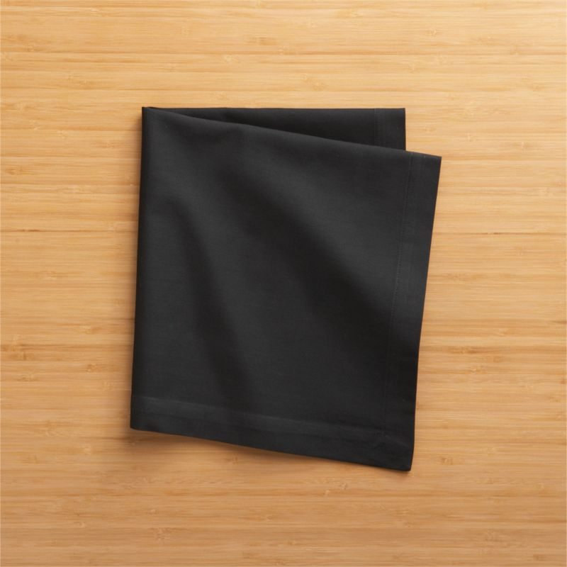 """Soft cotton napkins mix and match gorgeous tones of saturated color. Elegant yet easy-care napkin is tailor finished with 1"""" hem and mitered corners.<br /><br /><NEWTAG/><ul><li>100% cotton</li><li>Machine wash cold, tumble dry; warm iron as needed</li><li>Made in India</li></ul>"""