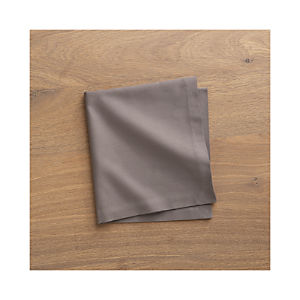 Fete Pewter Cotton Napkin (Cloned)
