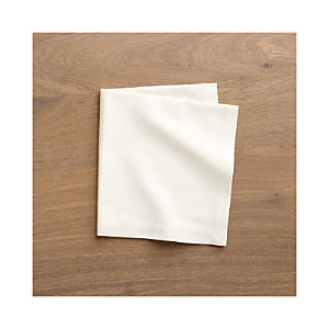 Fete Vanilla Cotton Napkins Set of Eight