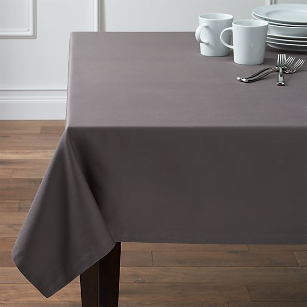 Fete Pewter Tablecloth