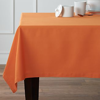 "Fete Pumpkin 60""x90"" Tablecloth"