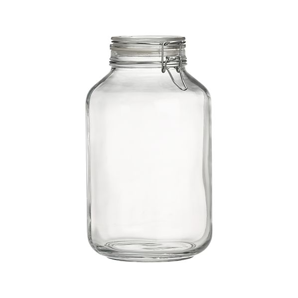 Fido Five-Liter Jar with Clamp Lid