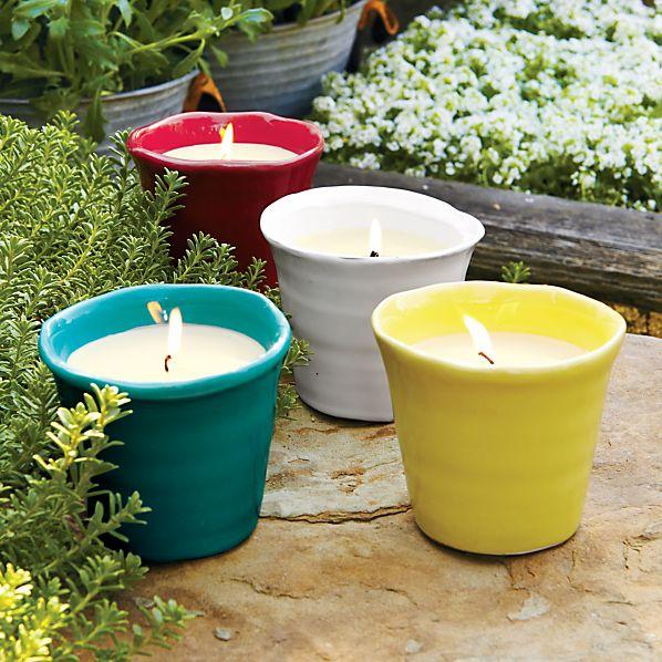 Festive Candlepots