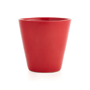 Festive Large Red Planter