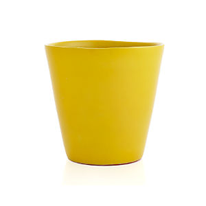 Festive Large Yellow Planter
