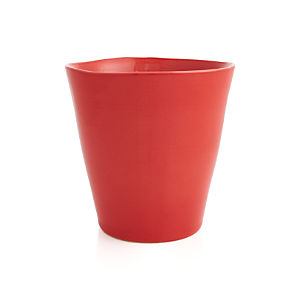Festive Small Red Planter