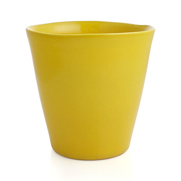Festive Small Yellow Planter