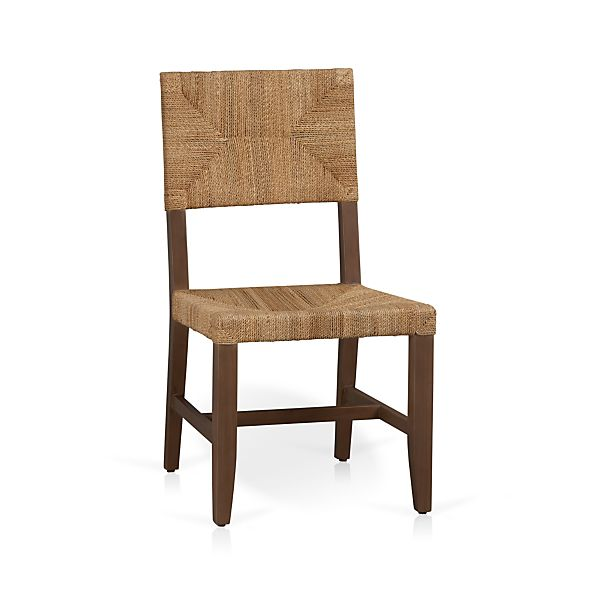 fiji side chair crate and barrel