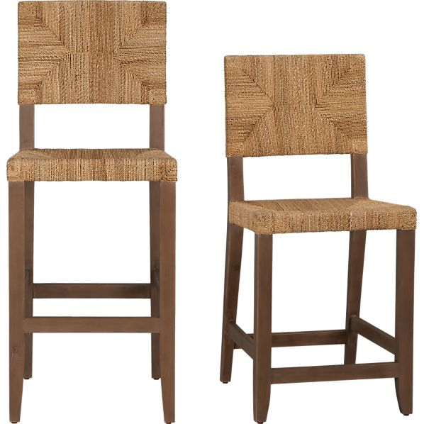 Fiji Bar Stools Crate And Barrel