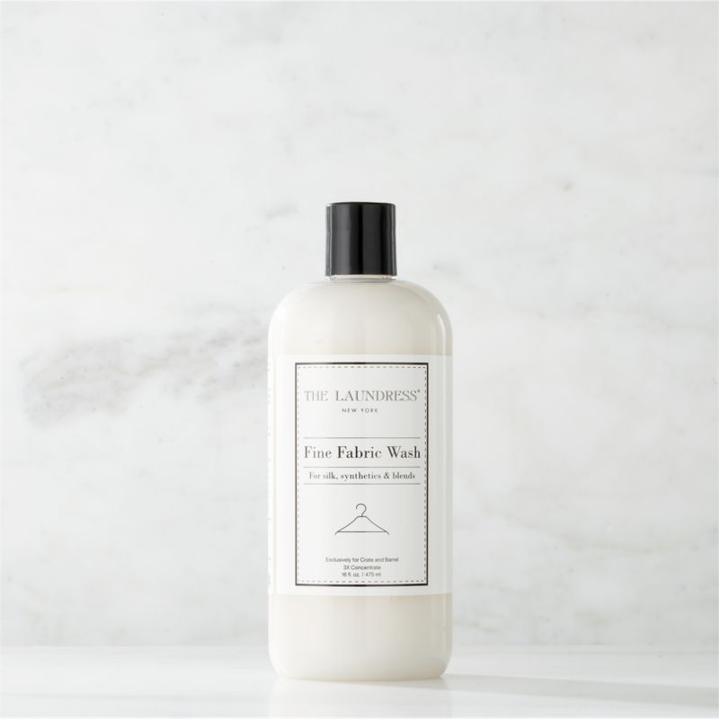 Make trips to the dry cleaner a thing of the past. Formulated exclusively for Clean Slate™, this ultra-gentle, eco-friendly wash by The Laundress®  is subtly infused with the scent of lavender. Designed to effectively clean your finest silk and other delicate fabrics by hand or on the delicate cycle of your washing machine, this fabric-care detergent safely removes stains and body oils to extend the life of your wardrobe. The plant-based formula is 100% biodegradable, non-toxic and allergen-free with no artificial colors or dyes, making it a kind choice for both the environment and sensitive skin.<br /><br />The Laundress® was dreamt up by two graduates from Cornell University's Fiber Science, Textile and Apparel Management and Design program. Frustrated with the financial and environmental cost of dry cleaning, the pair researched and developed eco-conscious formulas designed to properly care for every item in your closet.<br /><br /><NEWTAG/><ul><li>Formulated exclusively for Clean Slate™ by The Laundress®</li><li>Cleans fine and delicate fabrics by hand or on the delicate cycle of your washing machine</li><li>Plant-based wash is 100% biodegradable, non-toxic and allergen-free with no artificial colors or dyes</li><li>Subtly scented with lavender</li><li>Plastic container is PBA-free</li><li>Made in USA</li></ul>