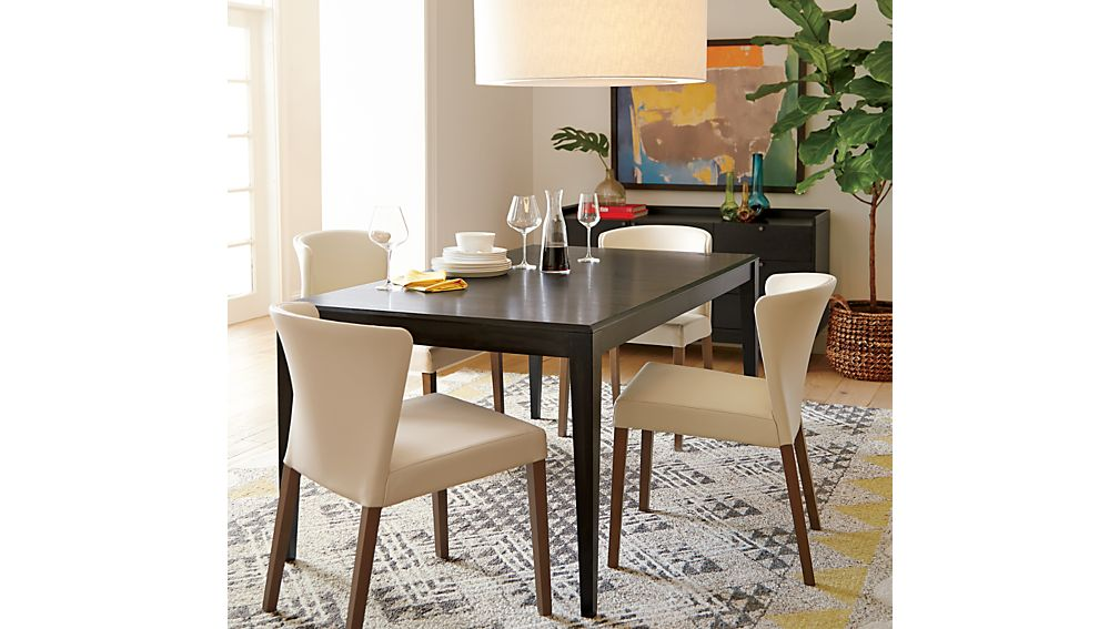 Curran Crema Dining Chair in Dining Chairs : Crate and Barrel