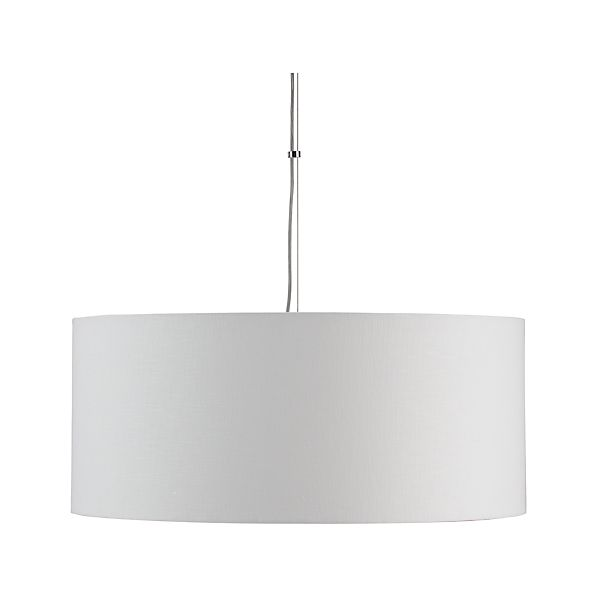 Finley Large White Pendant Lamp
