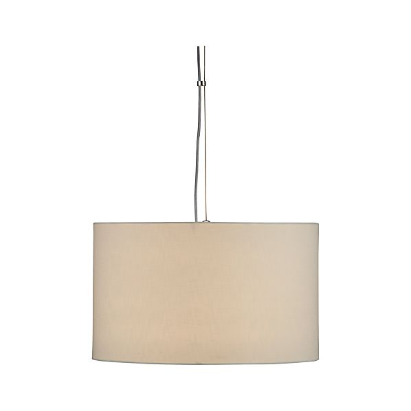 Finley Small White Pendant Lamp