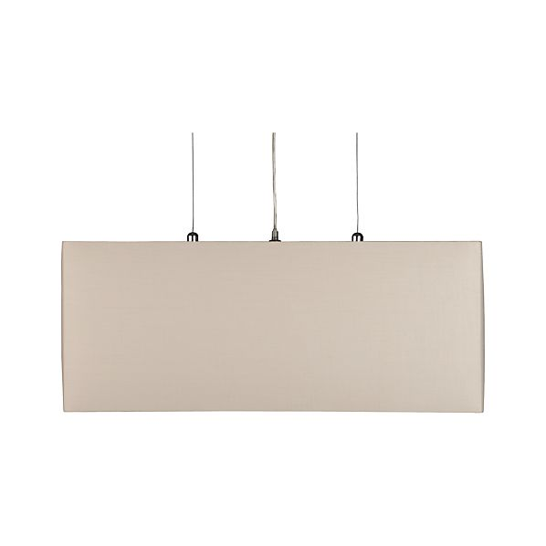 Finley Wheat Rectangle Pendant Lamp