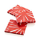 Set of 20 Fireworks Beverage Napkins.