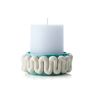 Fish Ceramic Candle Plate