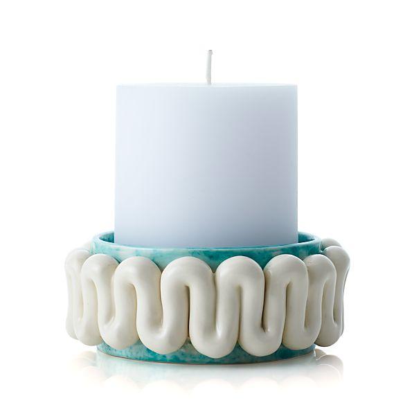 Fish Ceramic Candle Plate