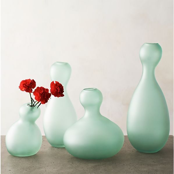 Fish Glass Vases
