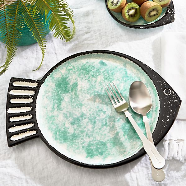 Fish Green Flat Plate