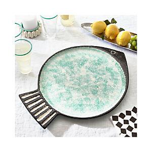 Fish Green Platter