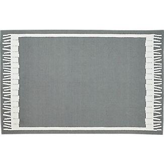 Fish Grey Indoor-Outdoor 6'x9' Rug