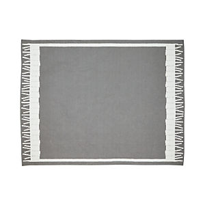 Fish Grey Indoor-Outdoor 8'x10' Rug
